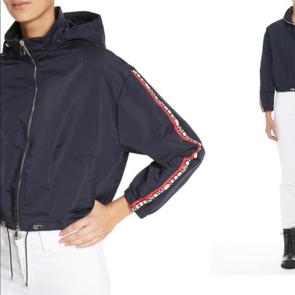 dec260536 Moncler Zirconite crop hooded coat NWT